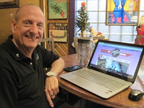 Akron resident Wayne Beck is hoping to bring his hometown some overdue artistic respect with the Akron Sound Museum Photo by Brian Lisik.