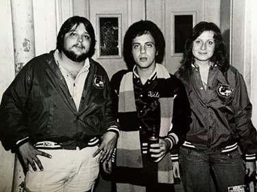 Keith Rathbun, Billy Joel and Max Rathbun - COURTESY OF DON KRISS