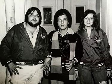 Keith Rathbun, Billy Joel and Max Rathbun - COURTESY OF DON KRISS