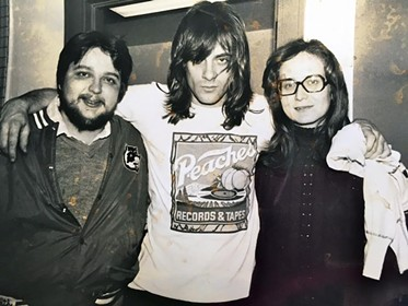 Keith Rathbun, Eddie Money and Max Rathbun - COURTESY OF DON KRISS
