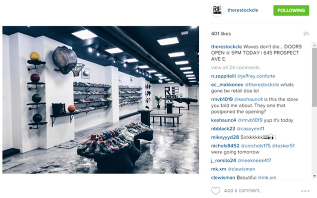 Culture Shoe Store Cleveland