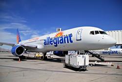 PHOTO COURTESY OF ALLEGIANT AIR
