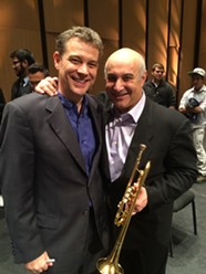 Ryan Anthony and Michael Sachs, principal trumpet and coronet in the Cleveland Orchestra. - CASE WESTERN RESERVE UNIVERSITY