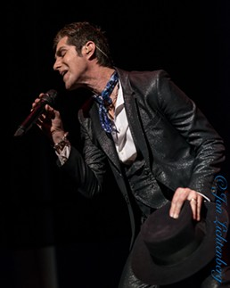 Jane's Addiction's Perry Farrell - JON LICHTENBERG
