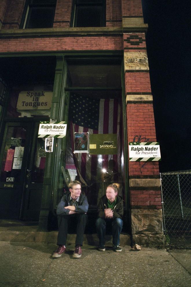 The always-open front door was a beacon for the underground in Cleveland. - KEN BLAZE