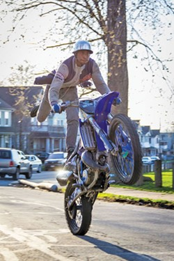 A rider — not Frank Jackson — with the MPWK group. - VANICE ALEXANDER