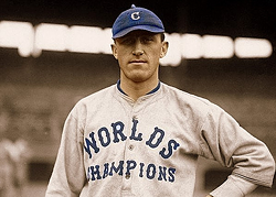 THE JERSEY THE INDIANS WORE IN 1921, THE YEAR AFTER WINNING THE 1920 WORLD SERIES