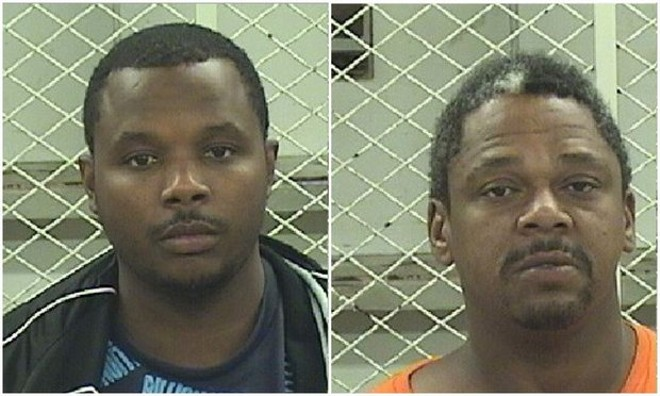 Simeon Gunn and Reginald Henderson - COURTESY CLEVELAND PD