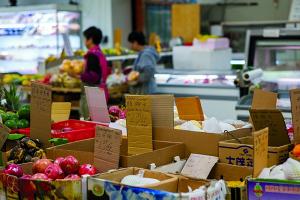 Asian Market - PHOTO BY BURKLEHAGEN