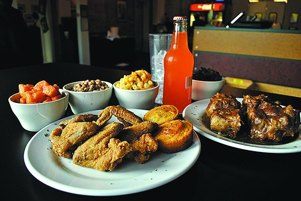 Angie's Soul Food - PHOTO BY BURKLEHAGEN