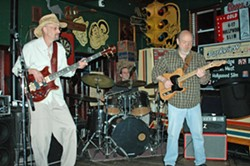 The Bad Boys of Blues have hosted weekly jam nights at Parkview since 1996. - DENISE GRAHAM