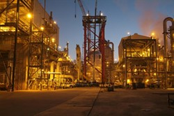 An ethane cracker in Port Arthur, Texas - BASF