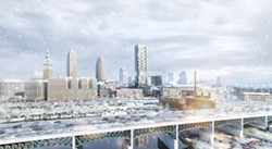 nuCLEus architectural rendering, provided to the city earlier this month. - NBBJ