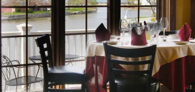 Chez Francois in Vermilion offers romance with a view. - FACEBOOK