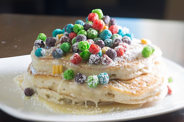 Yes, you can order Jumbo Cap'N Crunch Pancakes. - TWITTER
