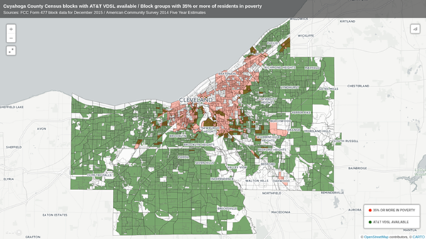 This map shows the digital divide in crystal-clear terms. - NDIA