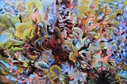 """""""Tide Pool"""" Katy Richards, oil on panel, 24x36"""" 2016"""