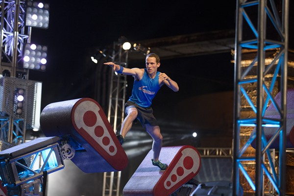 Cleveland ninja Logan Broadbent  returns for this year's competition. - COURTESY NBC