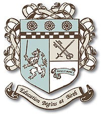 The English Nanny & Governess School crest. - WIKIPEDIA