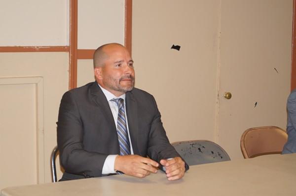 Robert Kilo, Mayoral Candidate Forum, Clark-Fulton VFW (6/26/17) - SAM ALLARD / SCENE