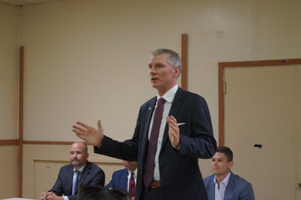 Chrostowski, Mayoral Candidate Forum, Clark-Fulton VFW (6/26/17) - SAM ALLARD / SCENE