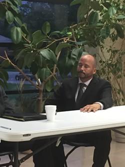 Robert Kilo; Mayoral Candidates' Forum 7/24/17 - SAM ALLARD / SCENE