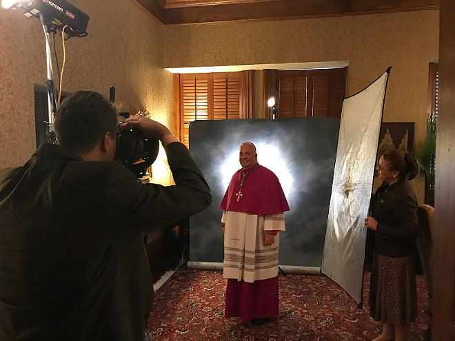 Cleveland's New Bishop, Nelson Perez (9/4/2017) - COURTESY: CLEVELAND CATHOLIC DIOCESE