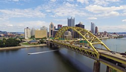 Fort Pitt Bridge - PHOTO BY JAKE MYSLIWCZYK