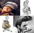 Sketchbook Heroes: Caricatures of Rock Legends