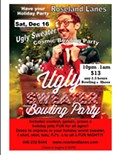 Ugly Sweater Bowling Party