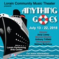 ANYTHING GOES presented by Lorain Community Music Theater
