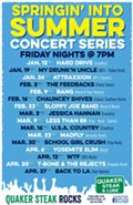 Springin' Into Winter Concert Series