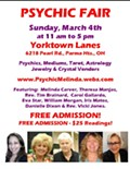 PSYCHIC FAIR - Free Admission - Cleveland