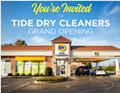 Tide Dry Cleaners Grand Opening!