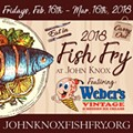 John Knox Fish Fry Fridays featuring Weber's Ice Cream & To-Go Option