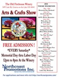 Old Firehouse Winery Arts & Crafts Show - Theme: Labor Day Weekend!
