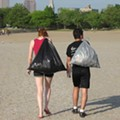 Splash Fund Adopt-A-Beach Cleanup with Terrestrial Brewing Company