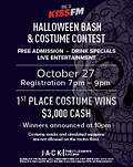 KISS FM Halloween Bash & Costume Contest
