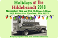 "6th Annual ""Holidays at the Hildebrandt"" Open House and Artist Studio Sale"