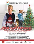 """Holiday concert """"OUR GAY APPAREL"""" performed by North Coast Men's Chorus"""