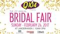 Q104's 25th Annual Bridal Fair