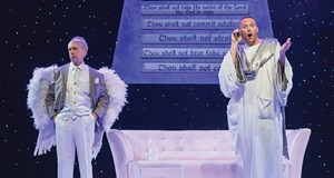 God Calls Himself an Asshole, in 'An Act of God' at the Beck Center