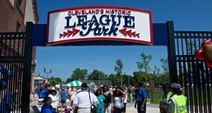 PHOTOS: Cleveland's Historic League Park Opened on Saturday