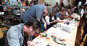 Spaces' Monster Drawing Rally Revs Up Artistic Action This Weekend