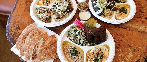We've Tried Damn Near Every Falafel in Cleveland; We've Found the Best at the Appropriately Named Cafe Falafel