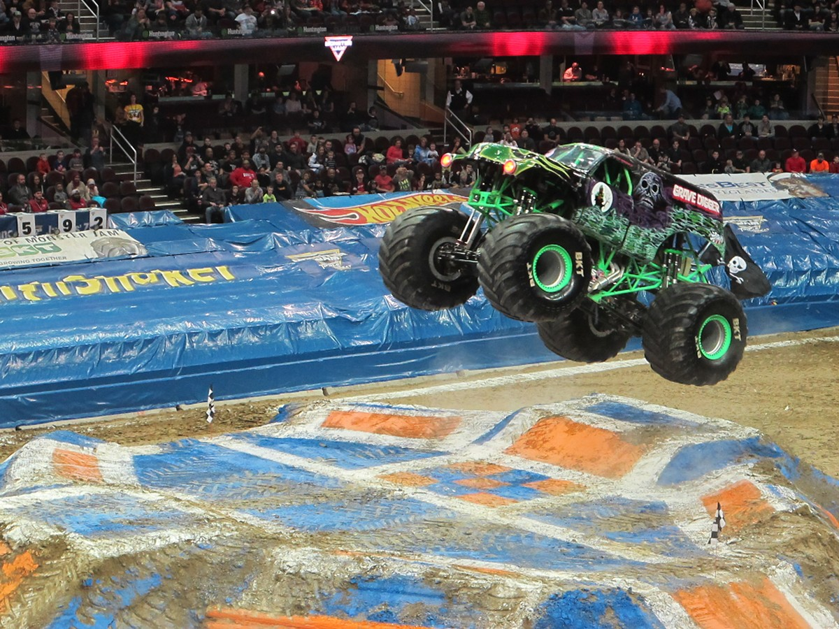 Monster Jam returns to the Q. See: Saturday.