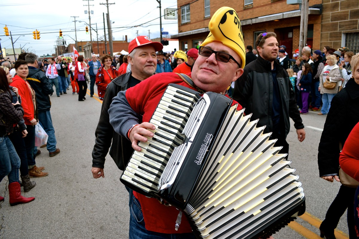 Dyngus Day draws thousands to westside neighborhoods. See: Monday.