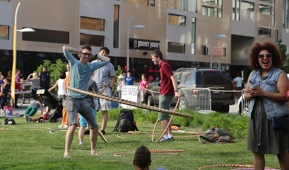Saturday: Uptown Miniature Golf and Ice Cream Social