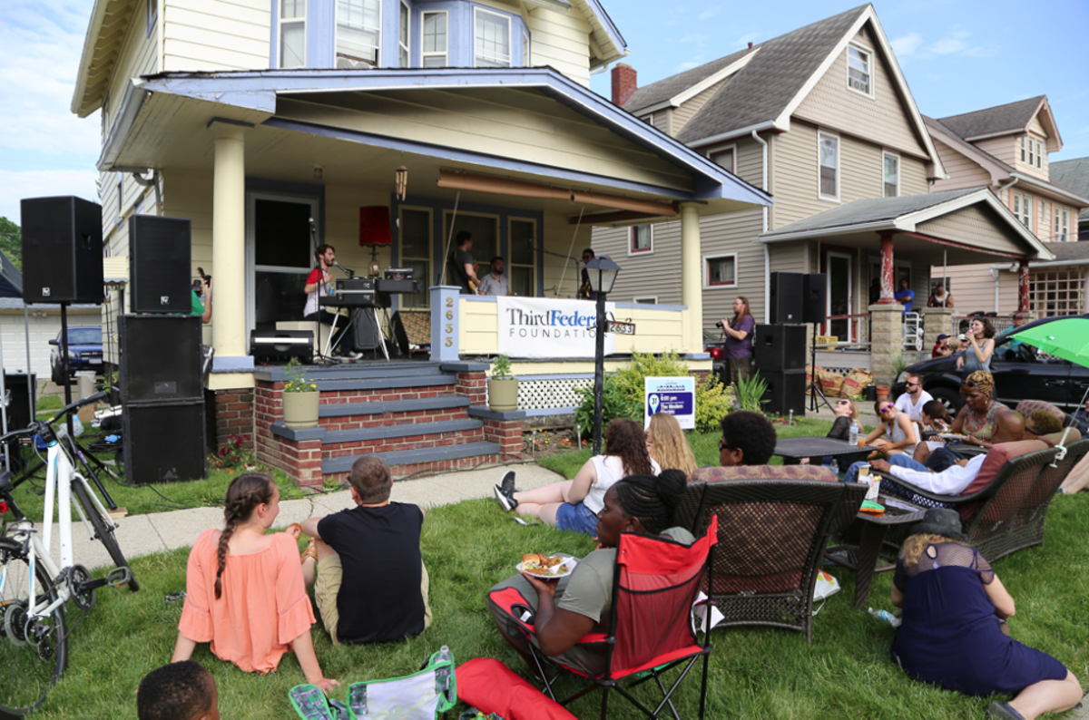PorchFest returns to Larchmere. See: Saturday.