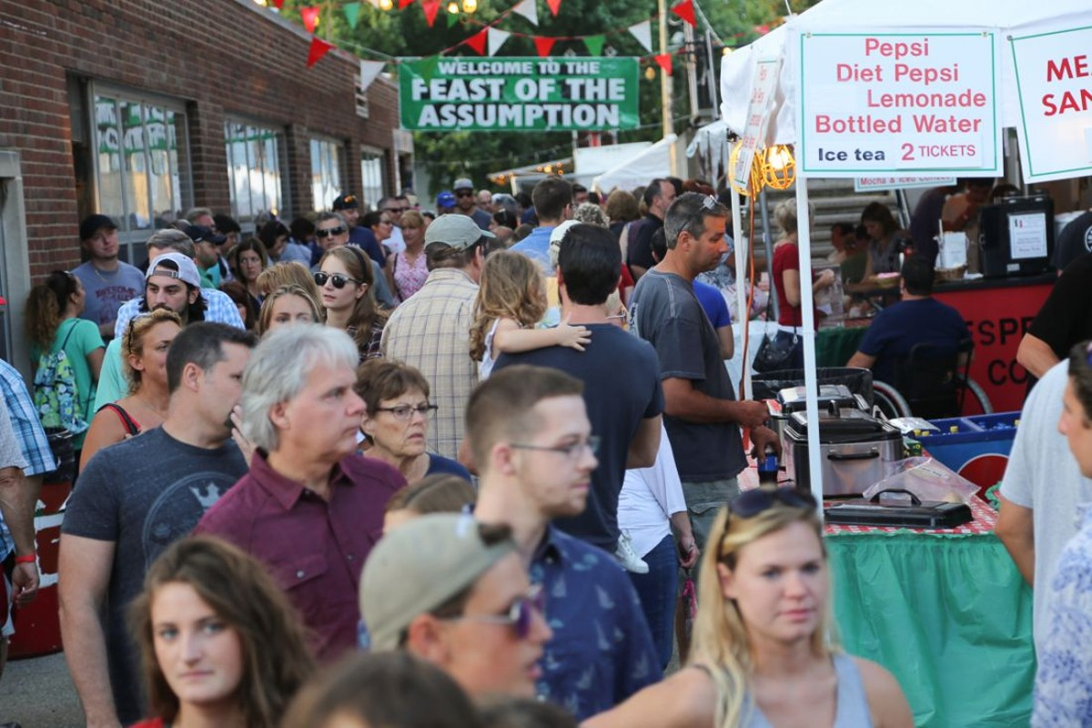 The Feast of the Assumption takes place in Little Italy this week. See: Wednesday.
